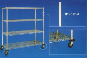 heavy duty wire shelving