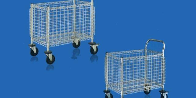 open top handling cart