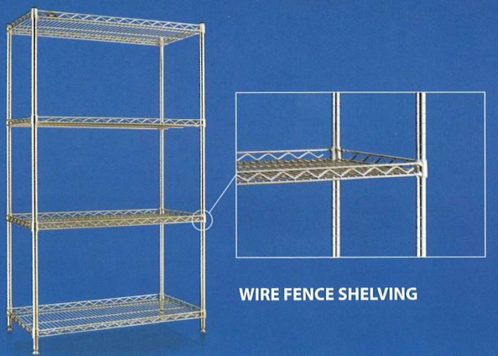 Wire Shelving Storage System - CG Solutions Enterprise Sdn Bhd