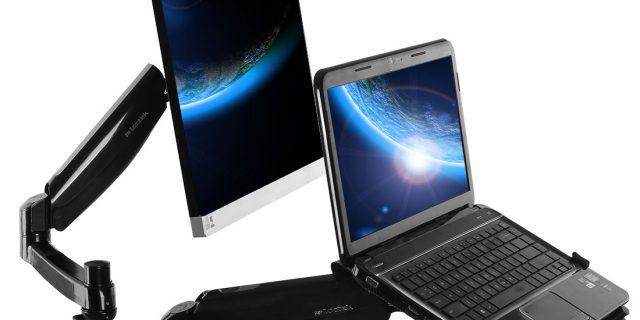 Loctek-dual-arm-desk-mount-stand-for-monitorlaptop-D5DL